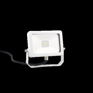 LED DRIVERLESS FLOOD LIGHT - 10W - 900 LM - 6400K - White