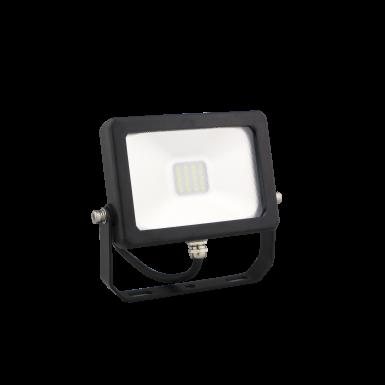 LED DRIVERLESS FLOOD LIGHT - 10W - 6400K - Black