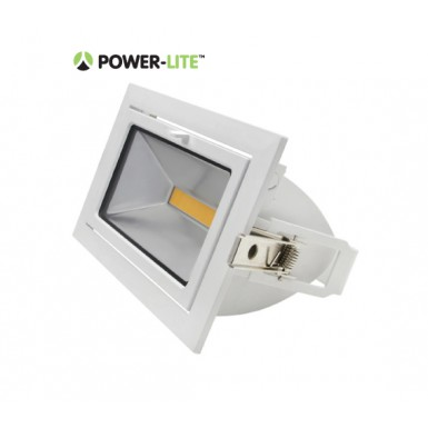 35W LED Shoplighter - 5700K - White Frame - IP65