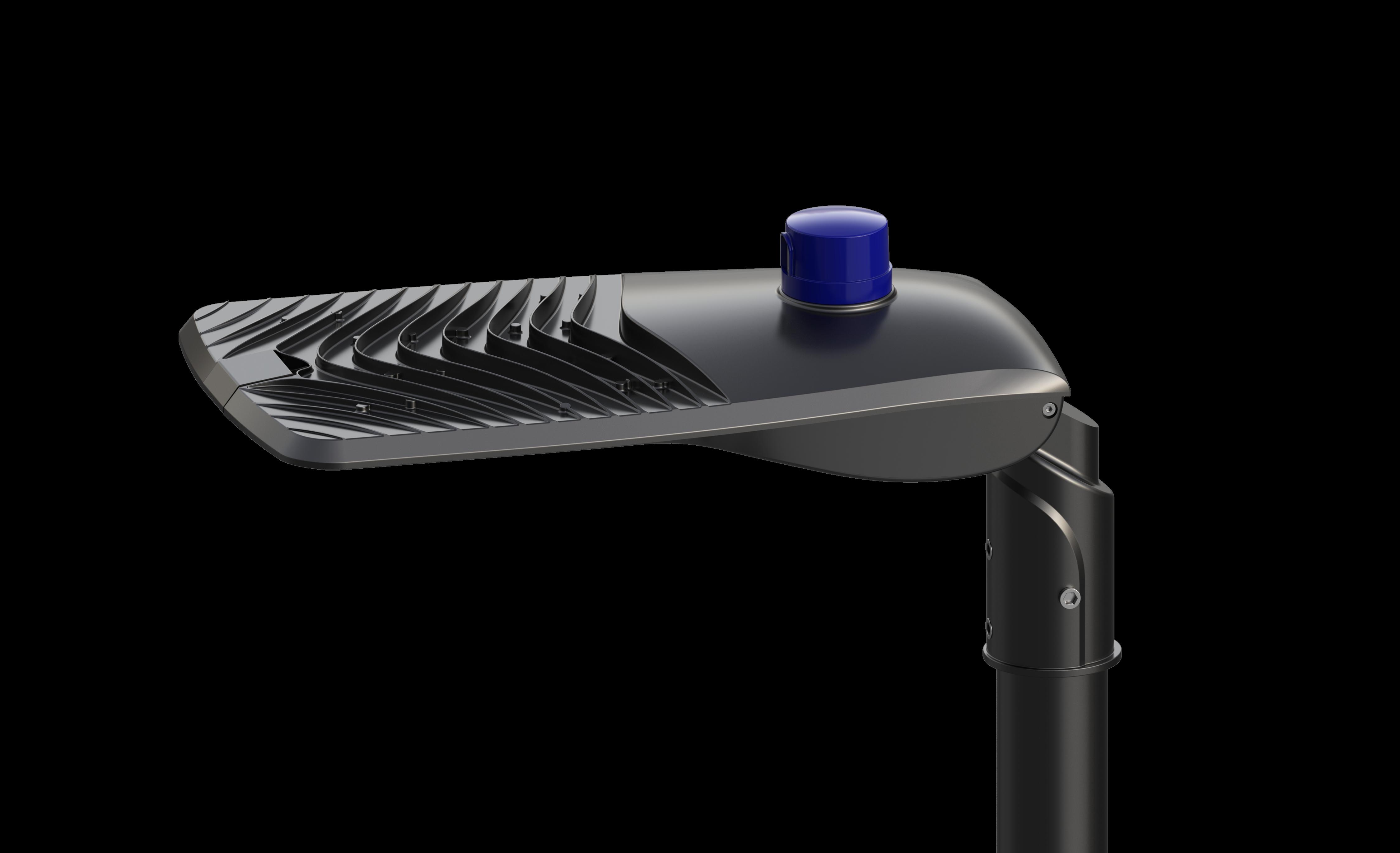 LED Street Light 180W - 6500K - 21,600 Lumens - IP66 - Black