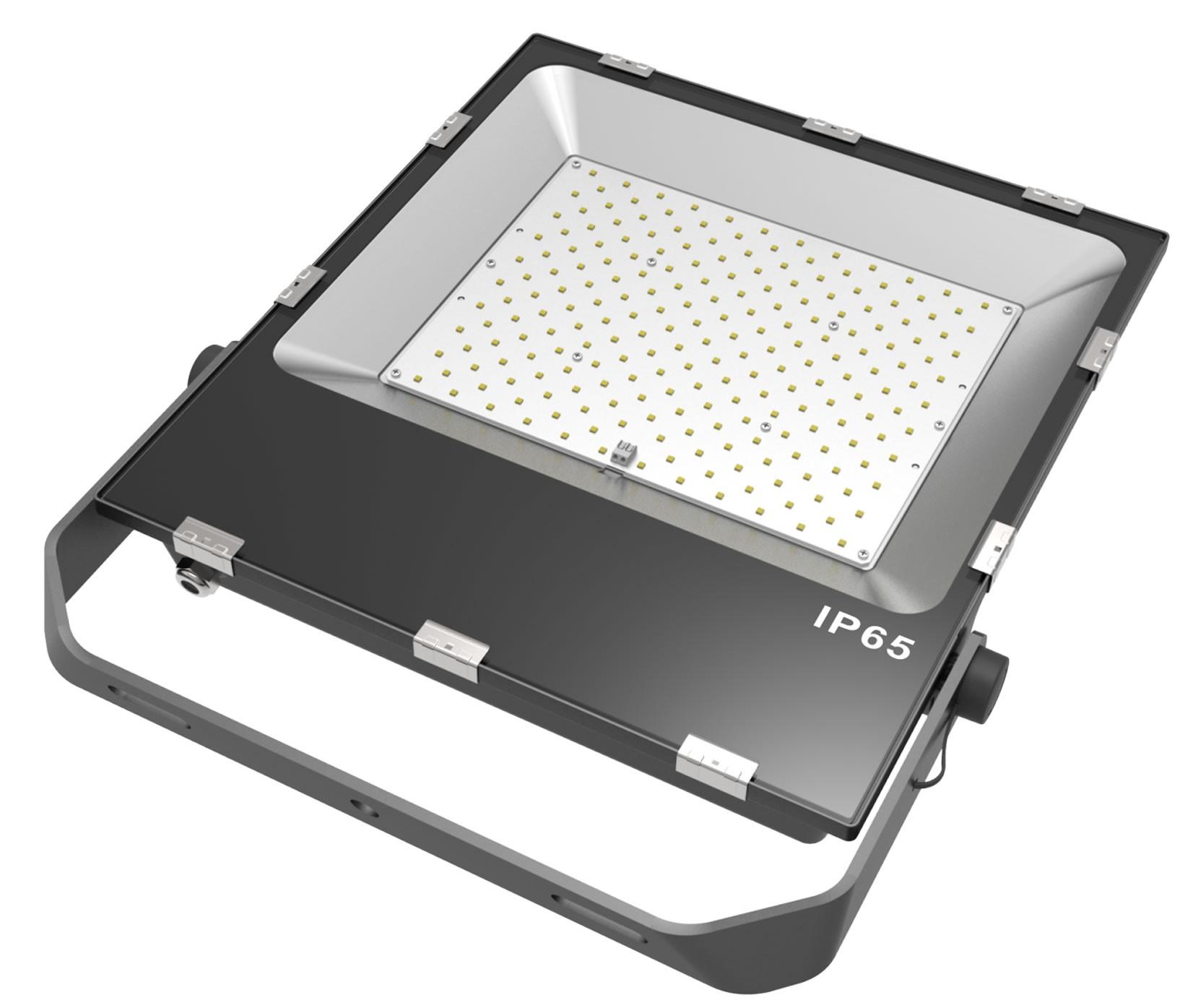 LED SLIMLINE FLOOD LIGHT- 200W - 24,600 Lumens - 6000K