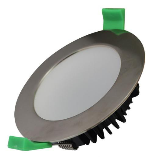 LED INTEGRAL DOWNLIGHT - 10W - 4000K - BRUSHED CHROME