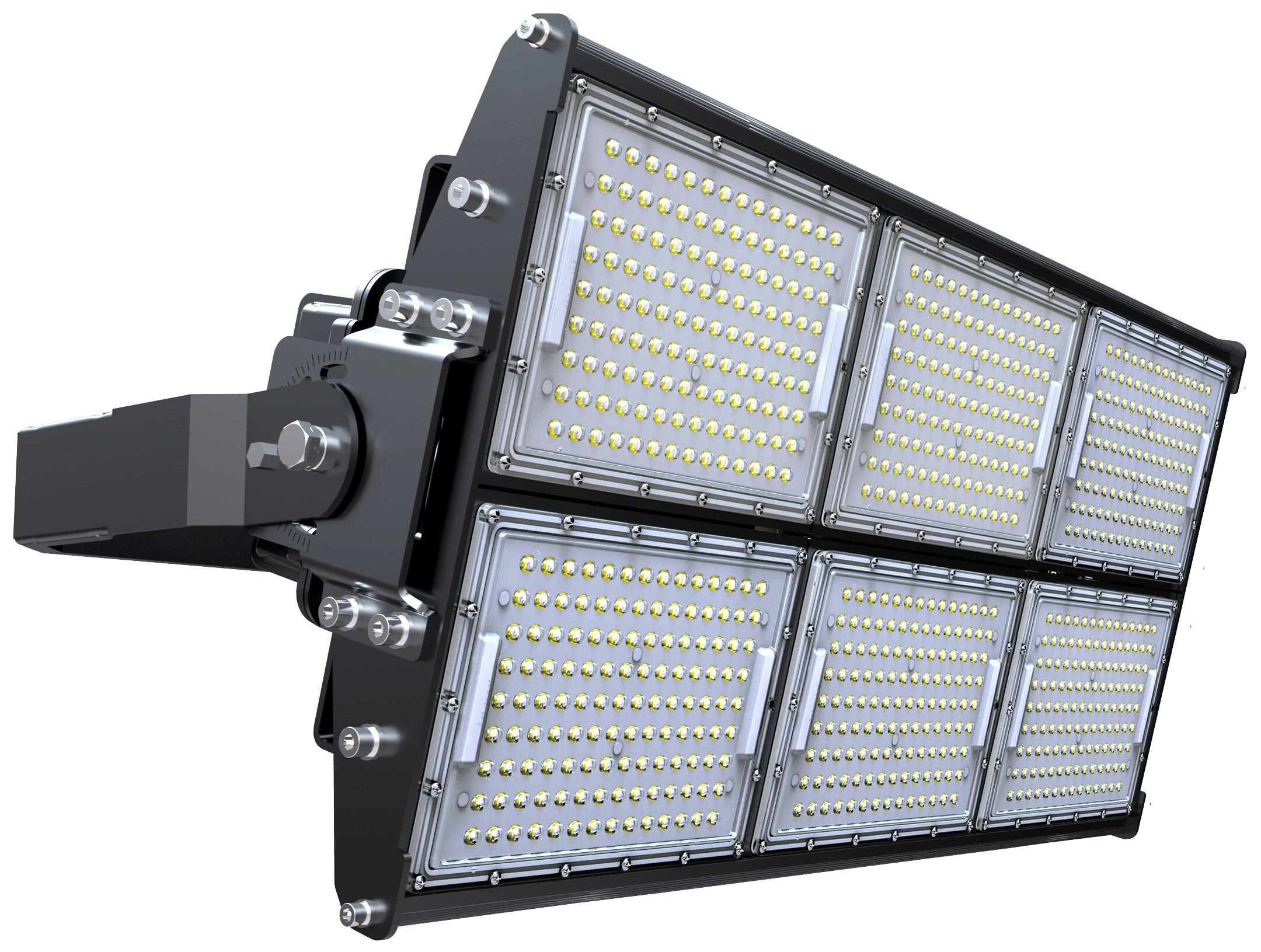 LED STADIUM FLOOD LIGHT - 720W - 93,600 LUMENS - 5700K