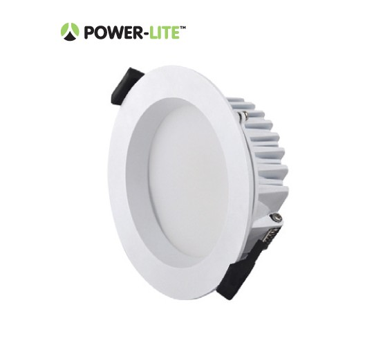 10W LED Downlight - Warm White - White Frame