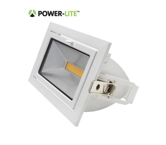 35W LED Shoplighter - 5700K - White Frame - IP65
