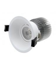 10W LED DOWNLIGHT - 10W - ANTI-GLARE & GIMBAL - 3000K