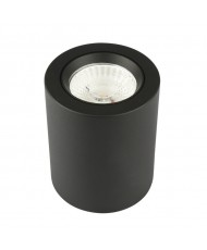 10W - LED CAN DOWNLIGHT - BLACK - 4000K