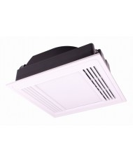 14W LED Exhaust Fan Light - White Frame