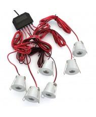 LED STAR LIGHT - 3W - 3000K - WHITE