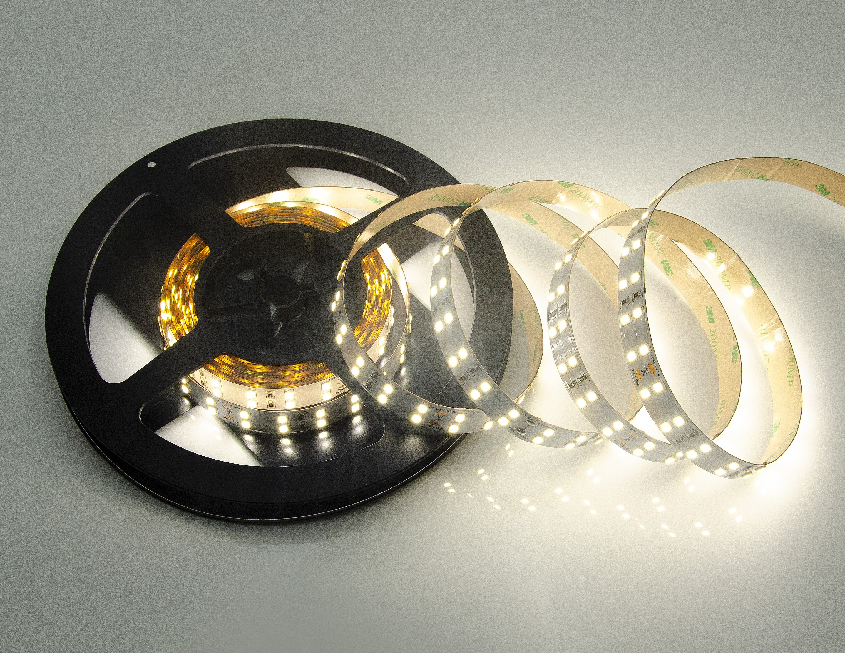 86W FLEXIBLE LED STRIP - DUAL - 4000K - IP20 - 5M/SET