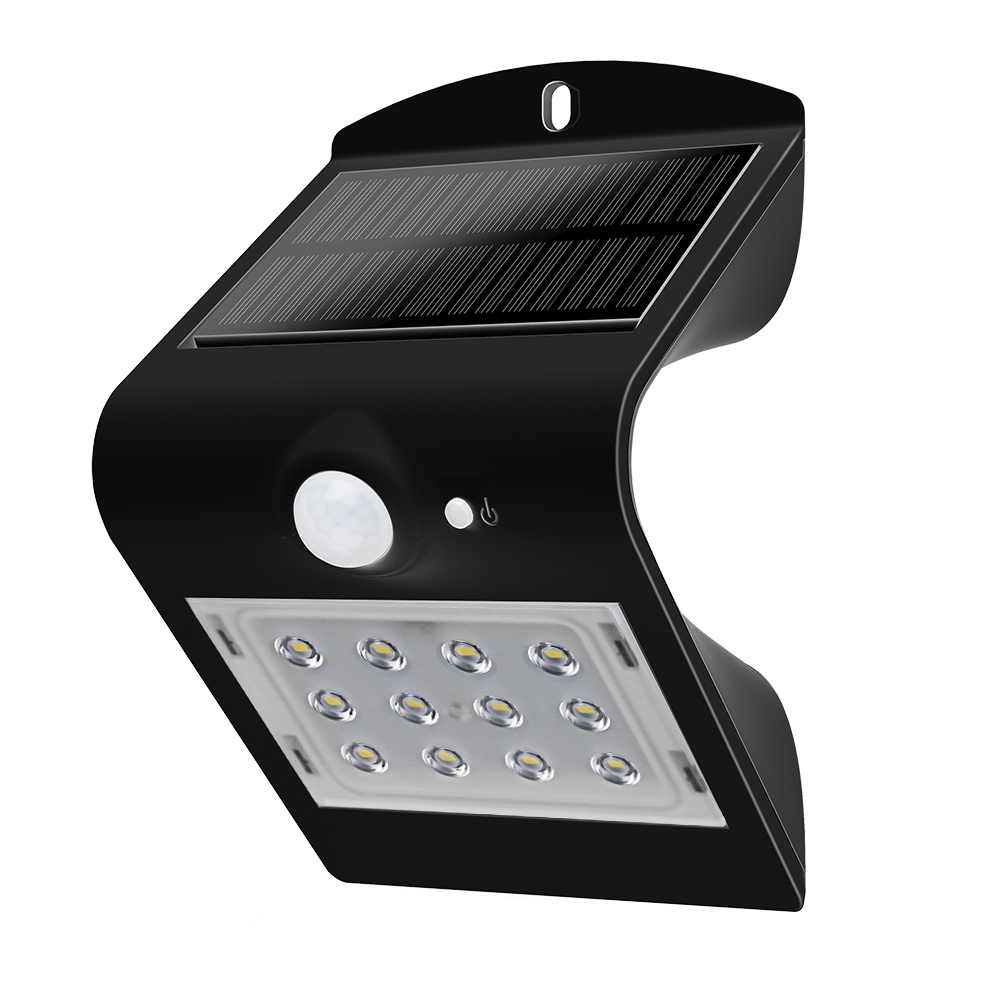 LED SOLAR POWERED LIGHT - 1.5W - 4000K+6000K