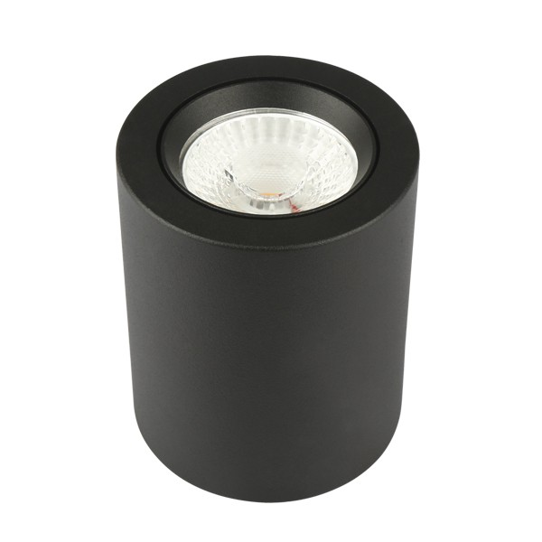 10W - LED CAN DOWNLIGHT - BLACK - 3000K