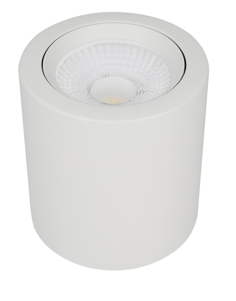 10W LED Can Downlight - White - 4000K