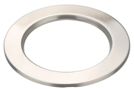 BRUSHED CHROME RING FOR ID DOWNLIGHT