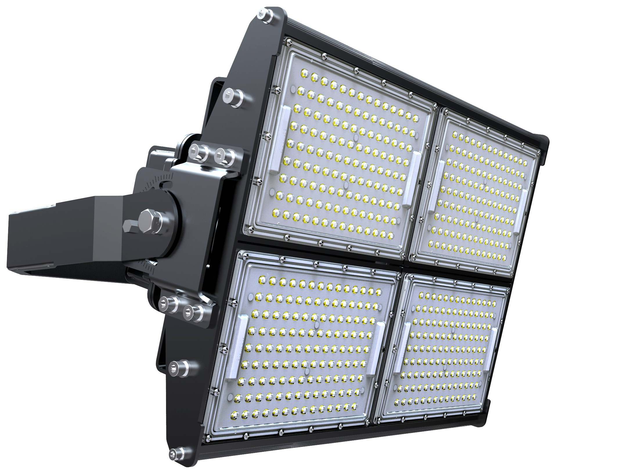 LED STADIUM FLOOD LIGHT - 480W - 62,400 LUMENS - 5700K
