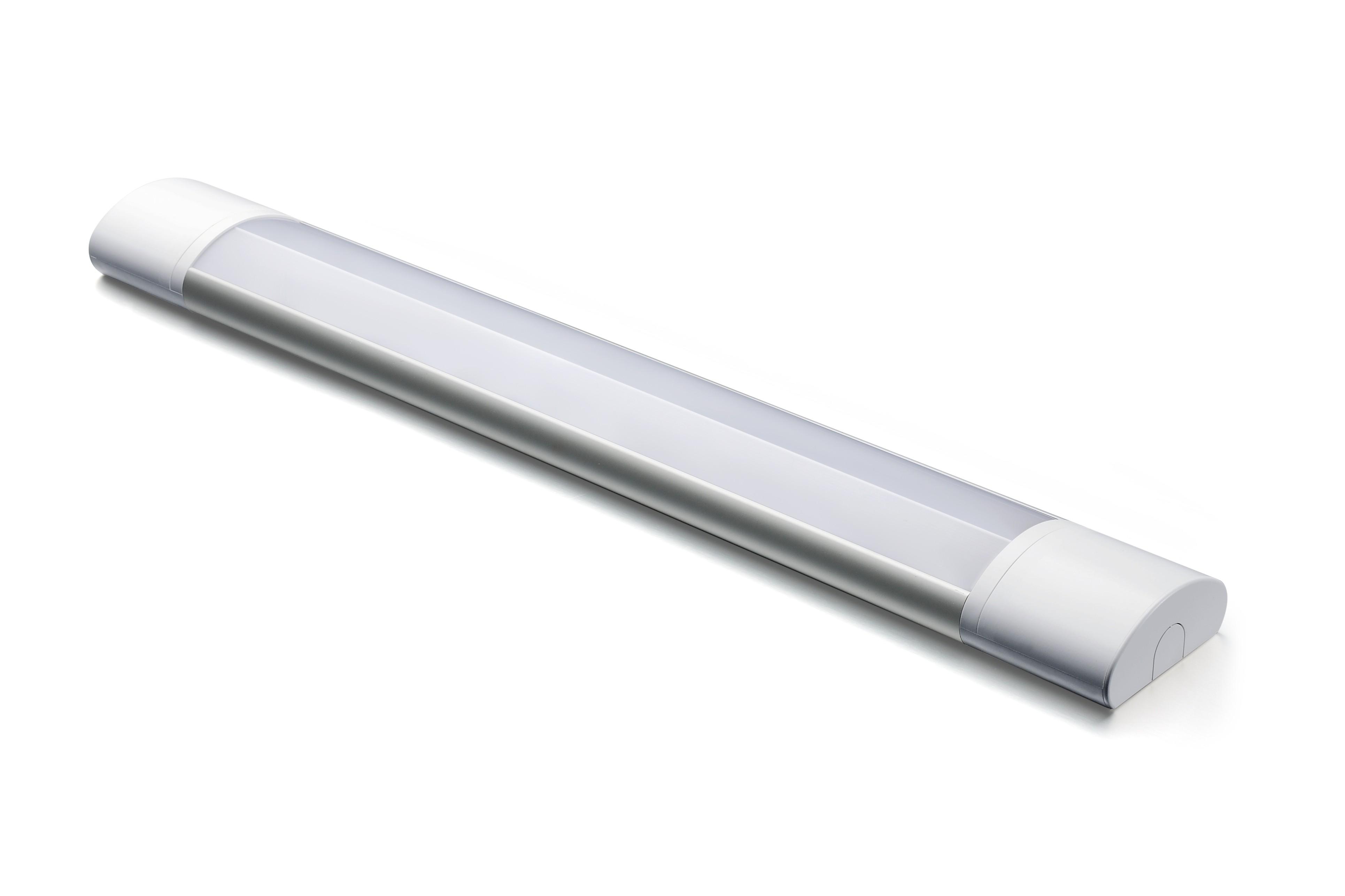 LED SLIMLINE BATTEN - 20W - 3000K-4000K-6000K - SENSOR