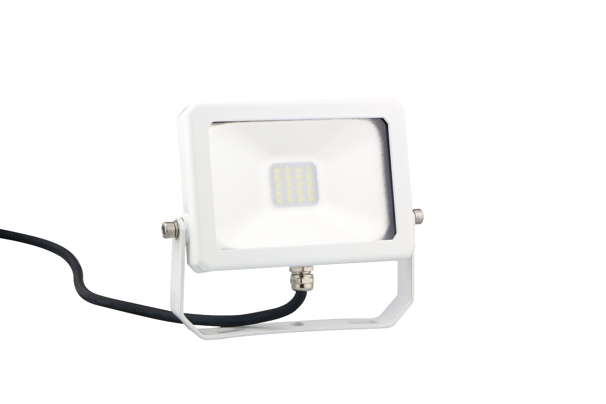 LED DRIVERLESS FLOOD LIGHT - 10W - 900 LM - 6400K - White