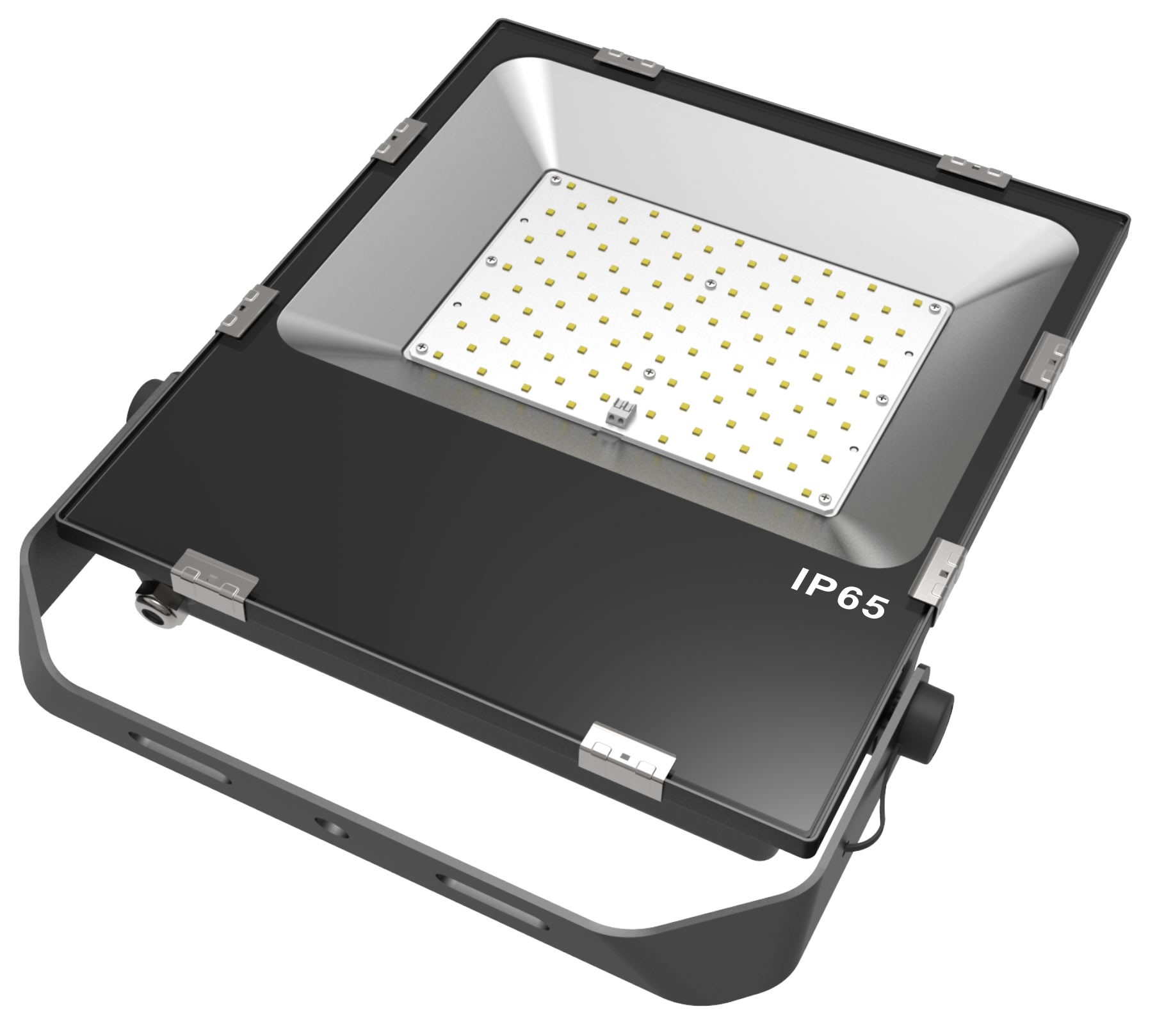 LED SLIMLINE FLOOD LIGHT- 100W - 12,500 Lumens - 6000k