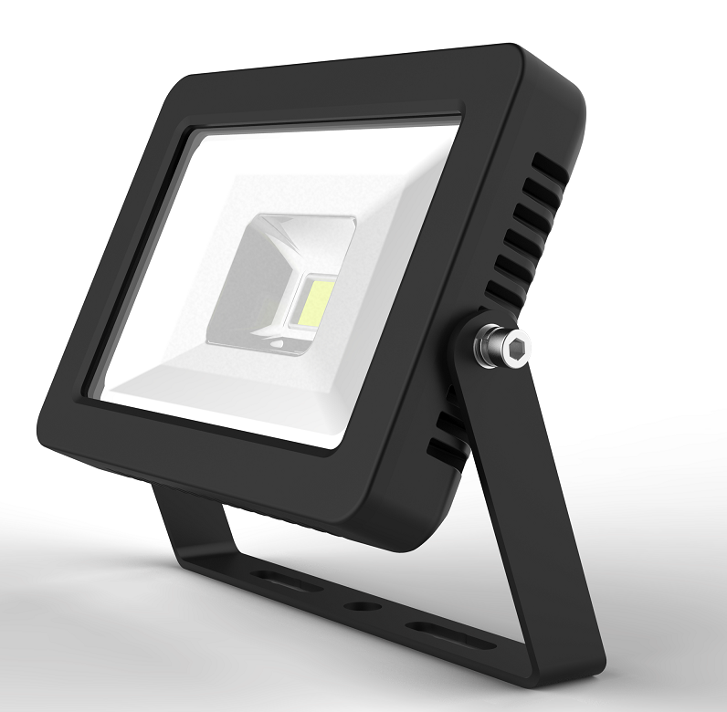LED DRIVERLESS FLOOD LIGHT - 30W - 5000K - Black