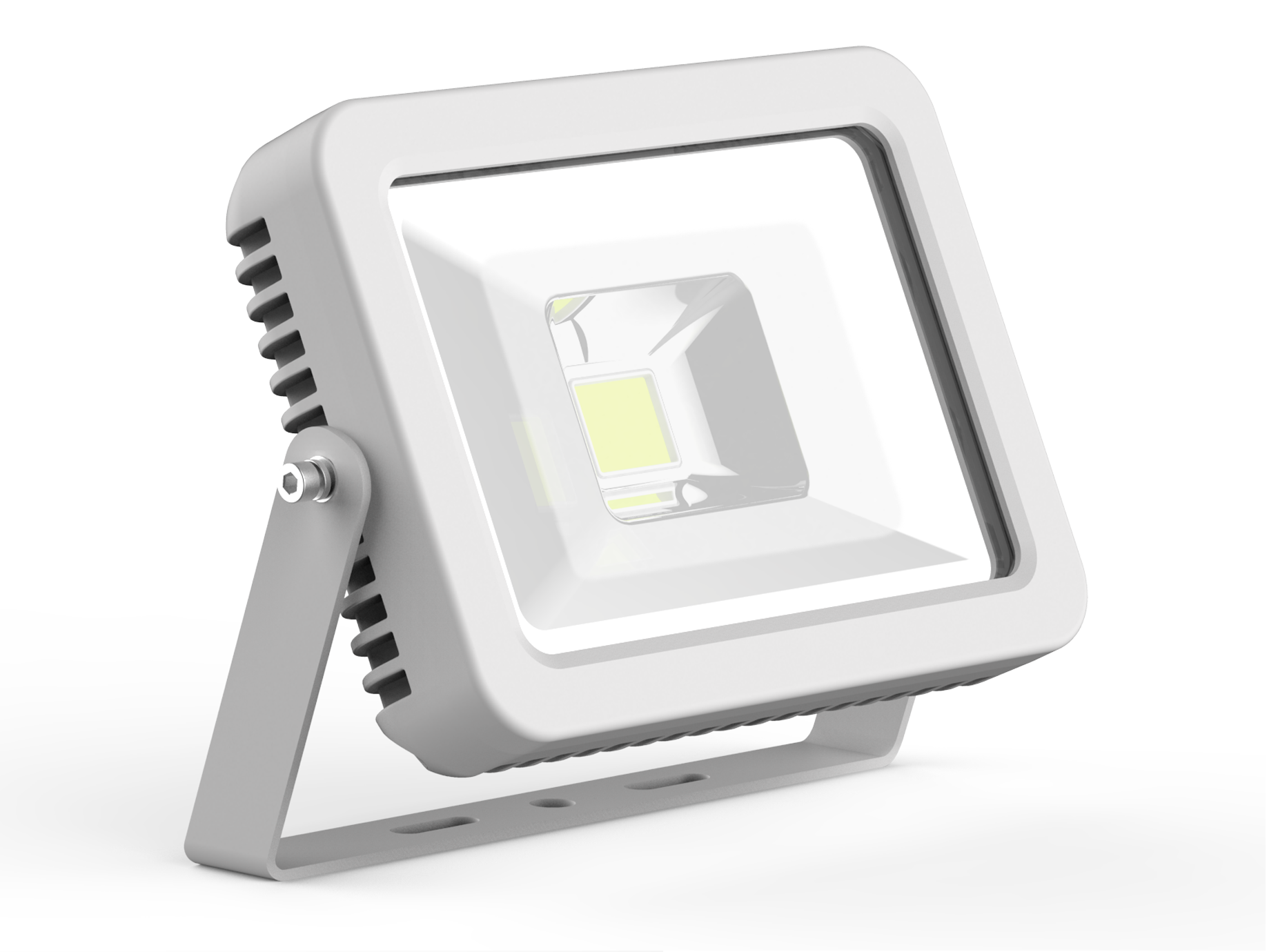 LED DRIVERLESS FLOOD LIGHT - 10W - 5000K - White