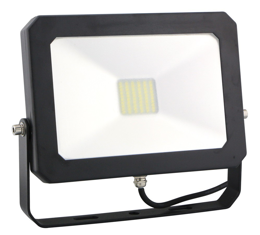 LED DRIVELESS FLOOD LIGHT - 30W - 6400K - BLACK HOUSING