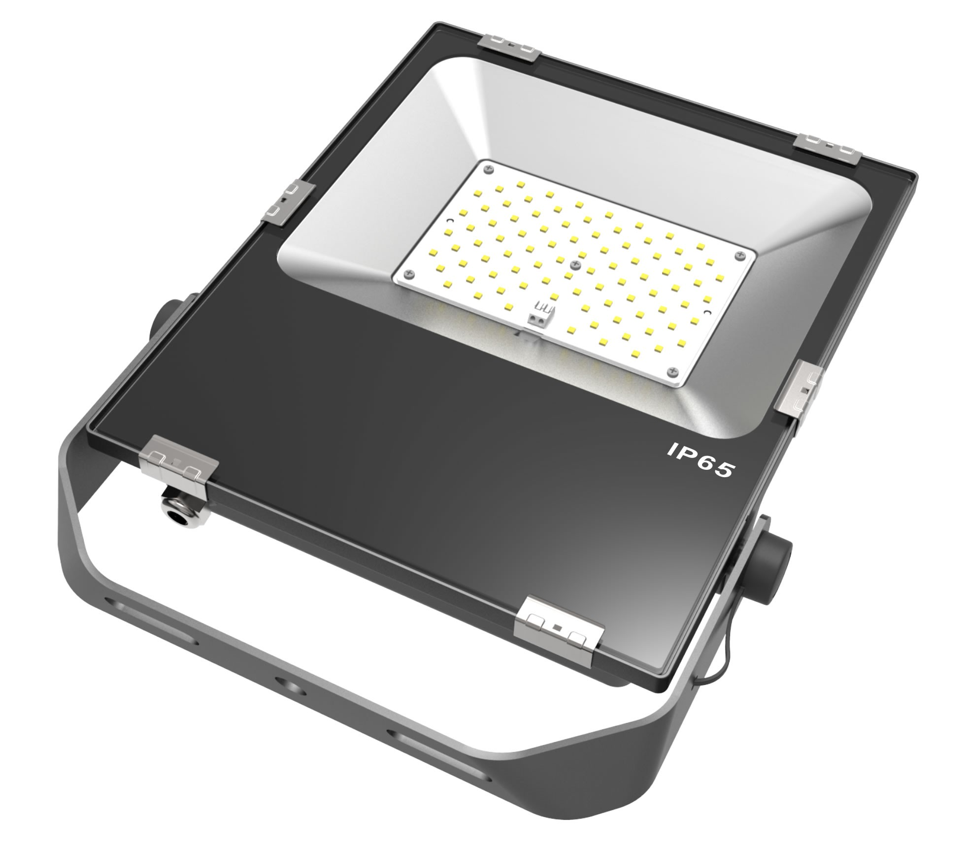 LED SLIMLINE FLOOD LIGHT- 70W - 8400 Lumens - 6000K