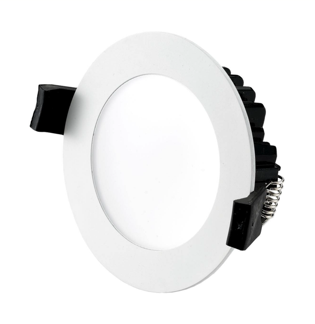 10W LED Downlight - Colour Changing - White Frame - WiFi