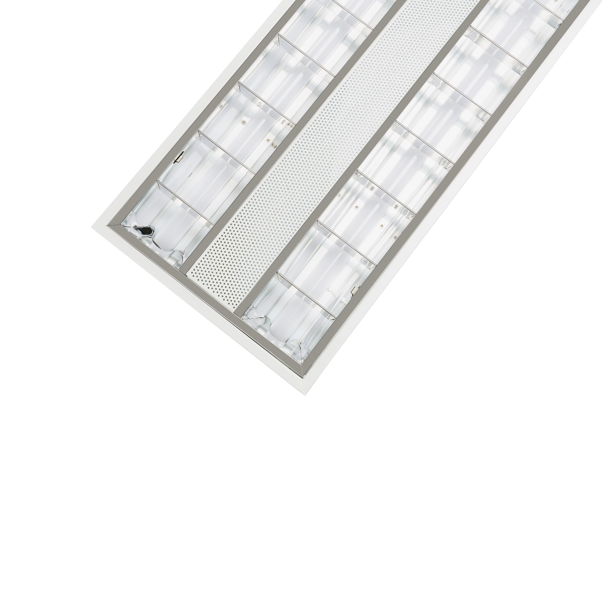 LED LOUVRED TROFFER - 36W - 1200mm X 300mm - 6000K