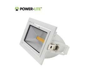 35W LED Shoplighter - 4000K - White Frame - IP65