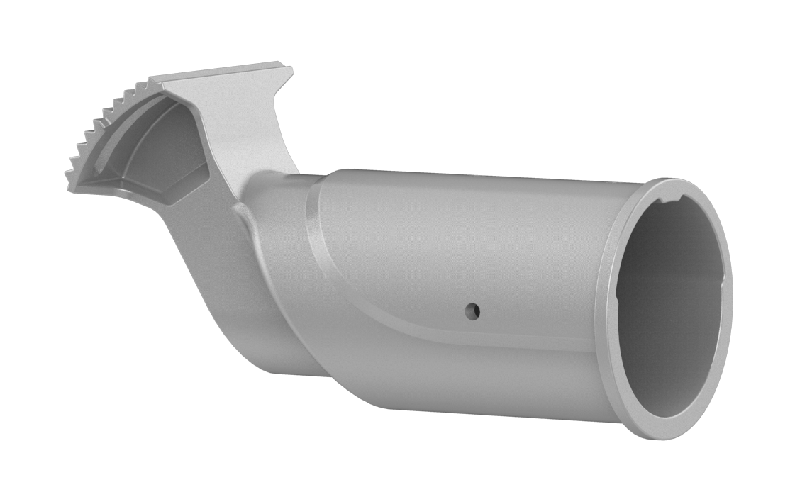 76MM SPIGOT  FOR LED STREET LIGHT - GREY