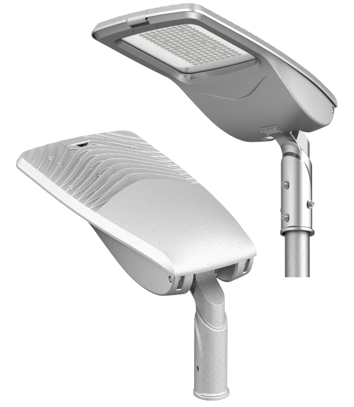LED Street Light - 90W - 6500K - 9,900 Lumens - IP66