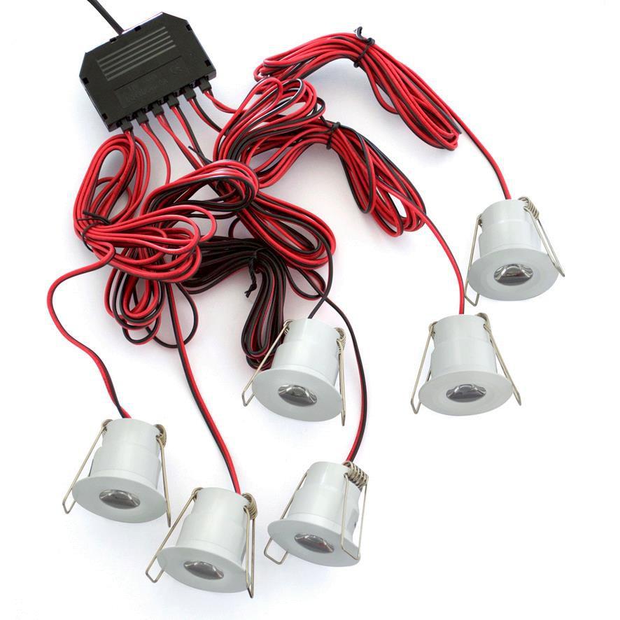 LED STAR LIGHT - 3W - 3000K - BRUSHED CHROME