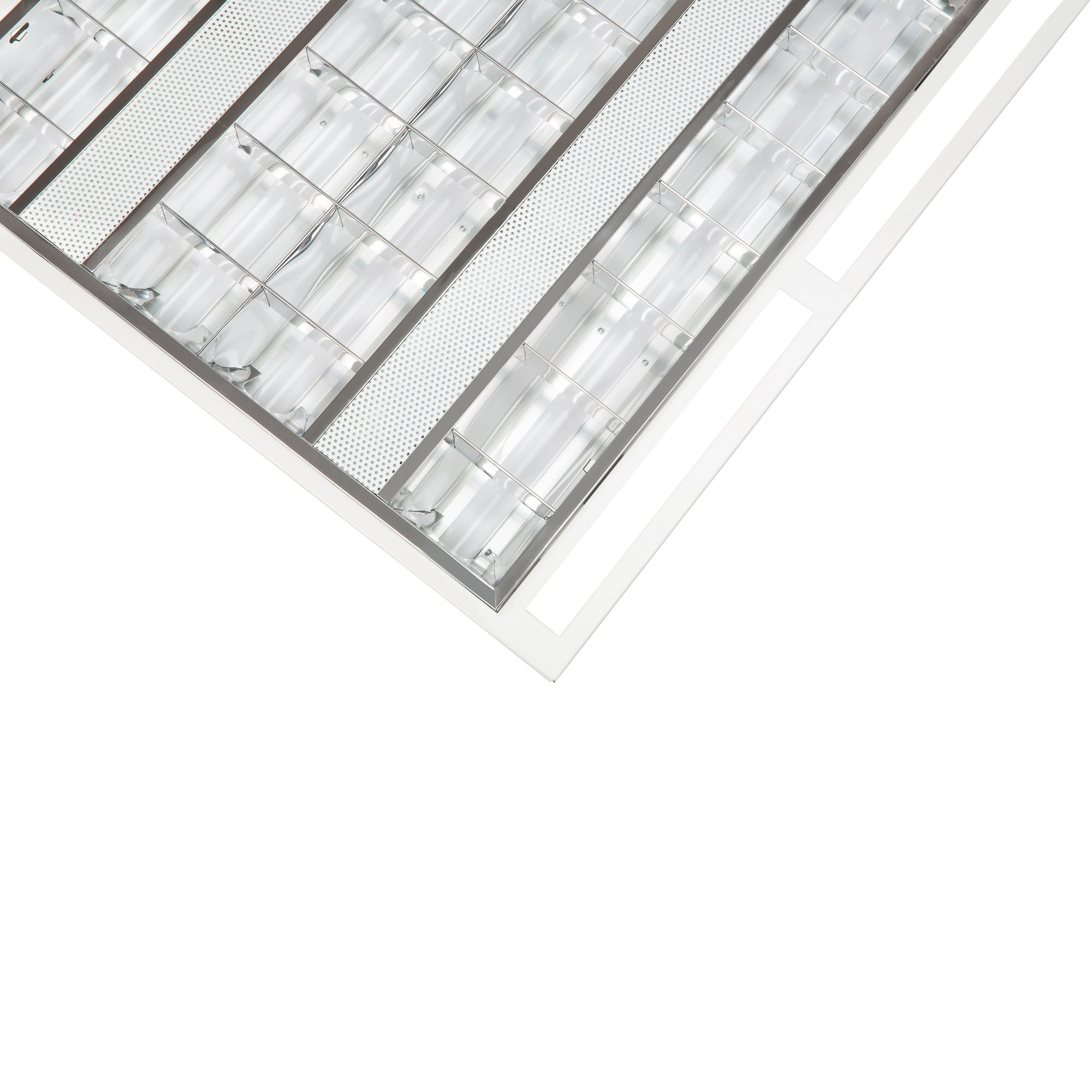 LED VENTED LOUVRED TROFFER - 36W - 600mm X 600mm - 4000K