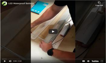 LED Waterproof Battens