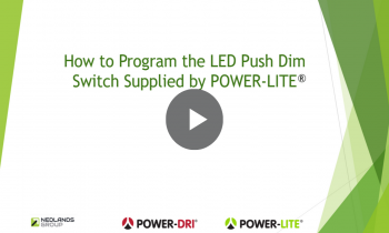 How to Program LED Push Button Dimmer Switch